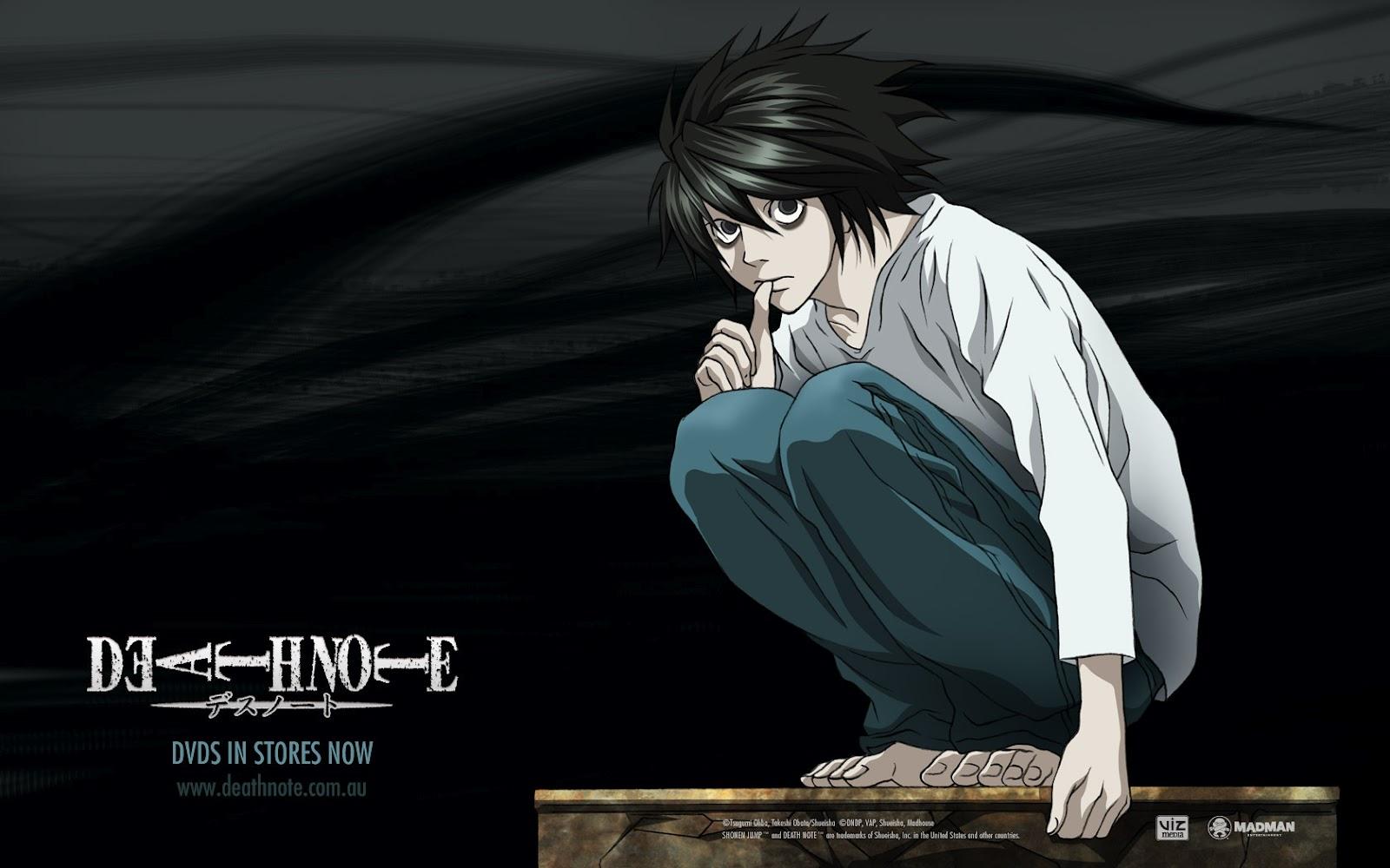 Wallpapers HD Death Note, Alguno Te Llevas