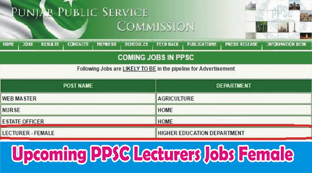 PPSC Lecturer Jobs in Punjab 2016