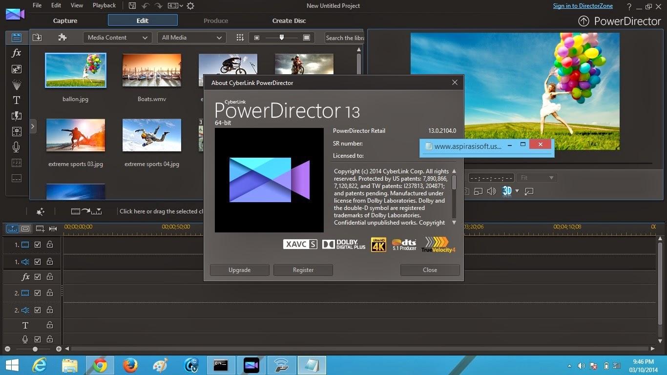 cyberlink powerdirector keygen download