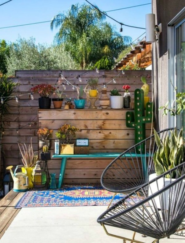 11 Ideas About Boho Chic Terraces - Very Cozy To Enjoy With Your Family 8