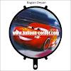 Balon Foil Bulat CARS (2 in 1)
