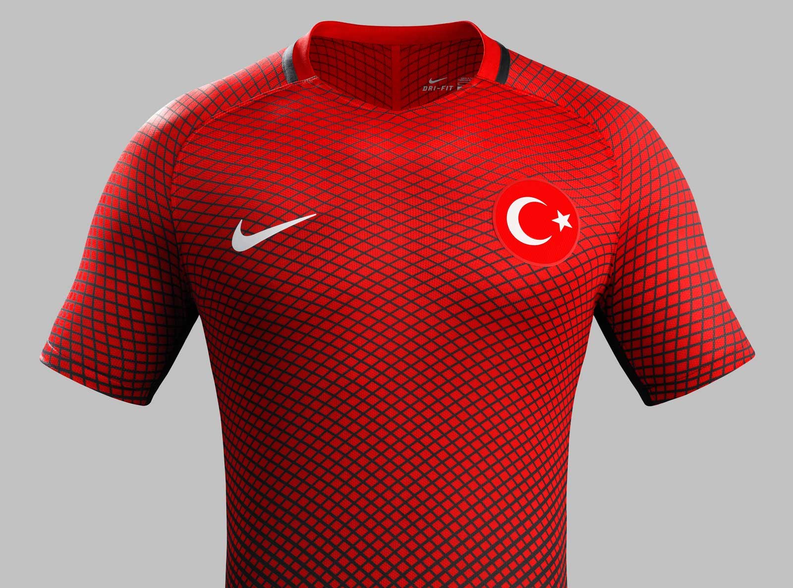 Turkey euro 2016 kits released footy headlines for Two color shirt design