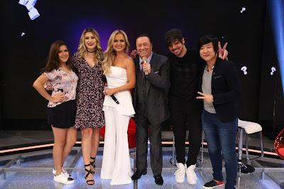 Maisa, Nina, Eliana, Raul, T3ddy e Pyong (Crédito: Rodrigo Belentani)