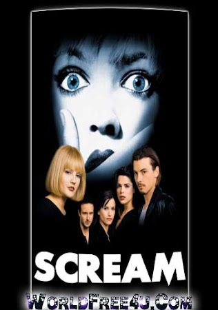 Poster Of Scream In Dual Audio Hindi English 300MB Compressed Small Size Pc Movie Free Download Only At worldfree4u.com