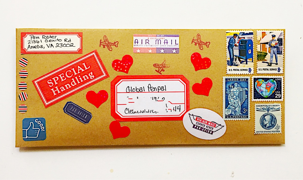 The Lost Art of Letter Writing   Revived!: Mish Mash of EVERYTHING