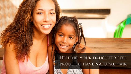 helping daughter feel proud