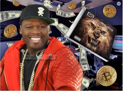 50 Cent Kembali Tajir Berkat Bitcoin