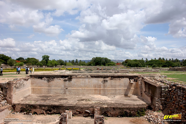 Royal enclosure in Hampi, Ballari district, Karnataka, India