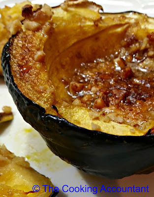 Honey Walnut Acorn Squash Fall Recipes