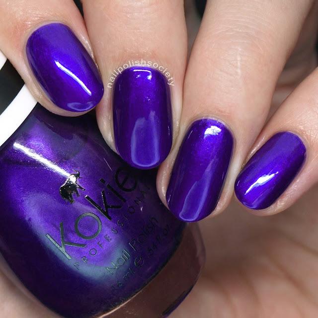 Nail Polish Society: Kokie Cosmetics Nail Polish Swatches