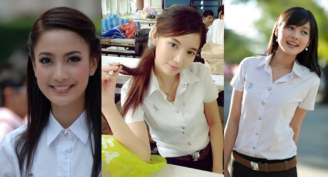 Thailand Girl Uniform Shool