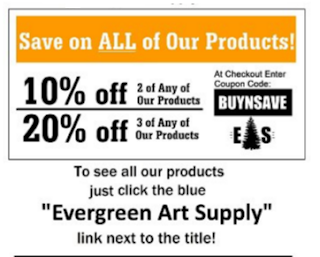 evergreen art supply coupon code