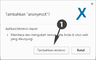 Cara Memasang Anonymox