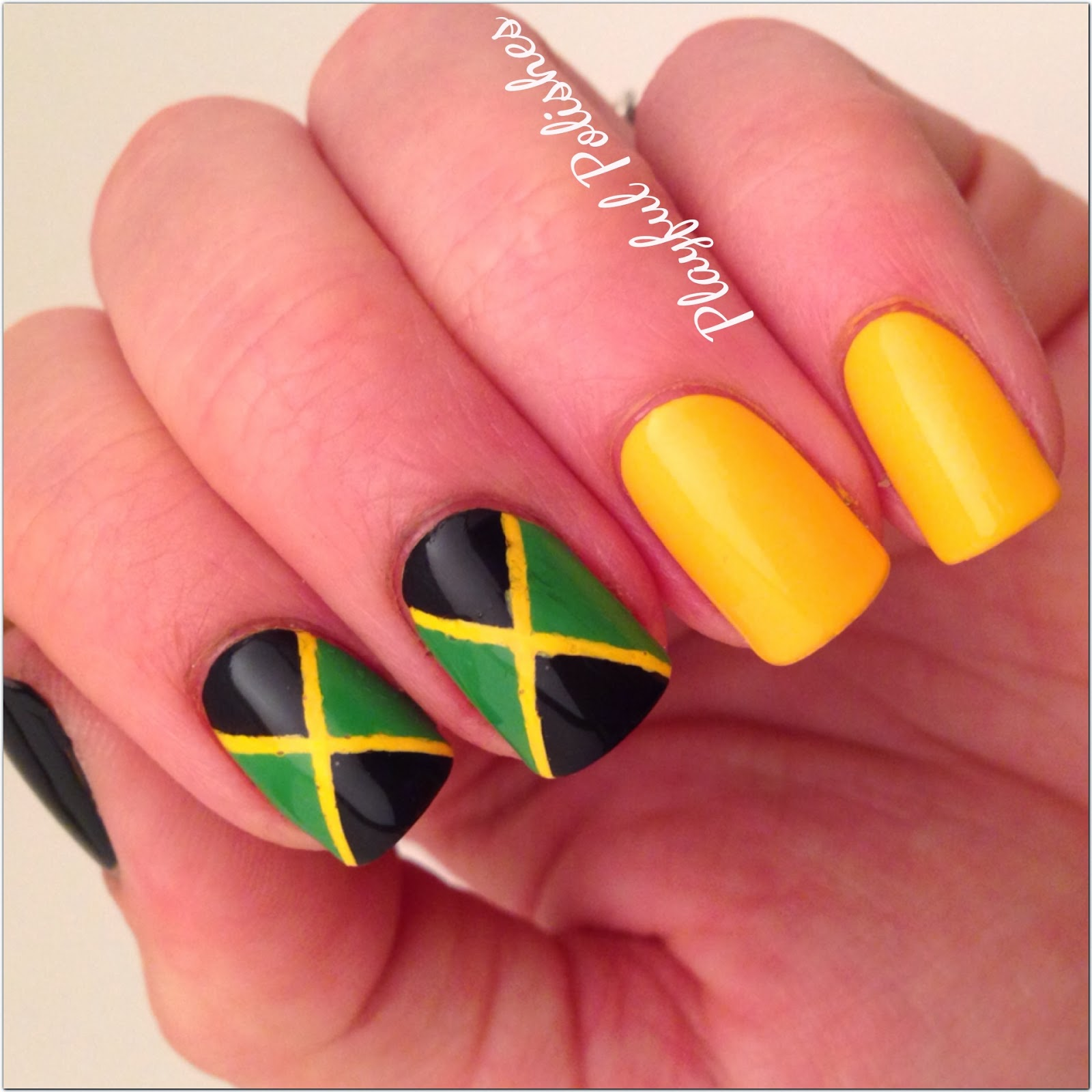 Playful Polishes 31 Day Nail Art Challenge Inspired By A Flag