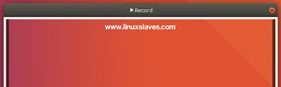 Animated GIF Recorder For Ubuntu Linux