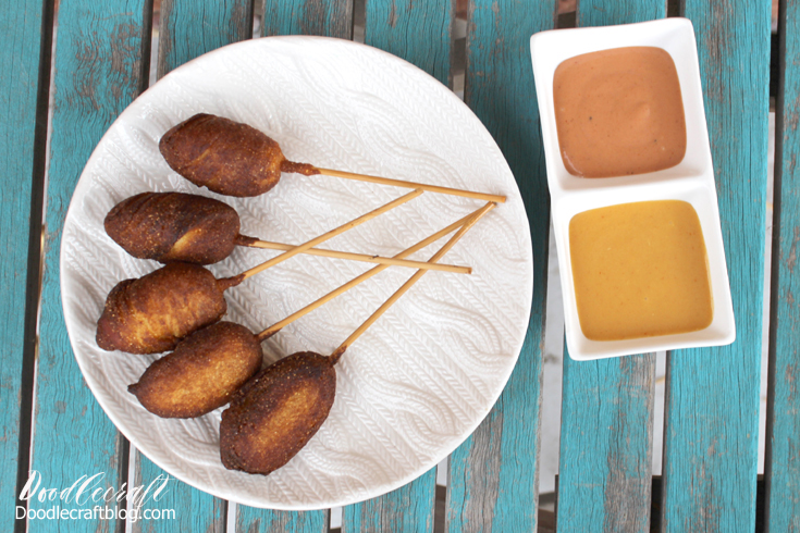 how to make corndog without corn