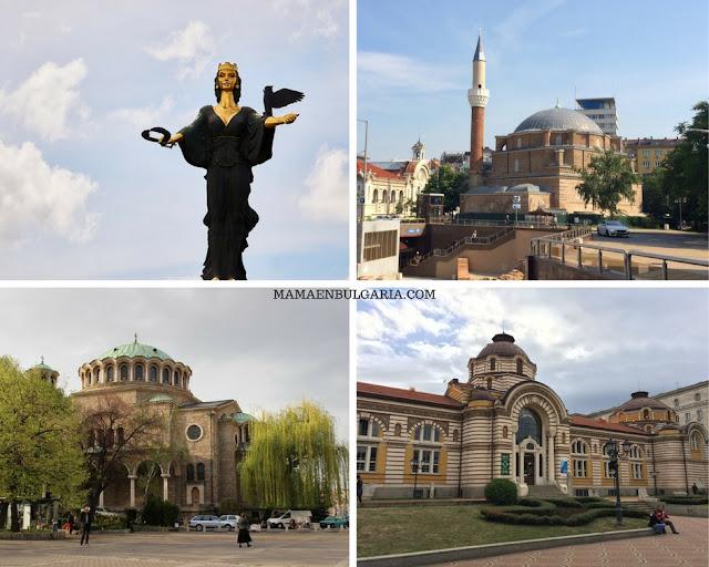 Qué ver en el centro de Sofía Bulgaria