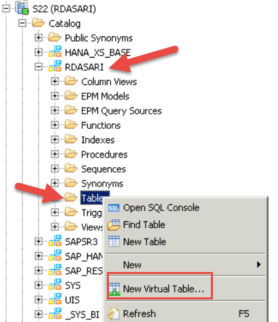 How to create FlowGraphs in HANA Web IDE with SDI connection