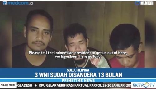 Abu Sayyaf Ancam Akan Eksekusi, 3 Sandera Asal Selayar Dan Bulukumba