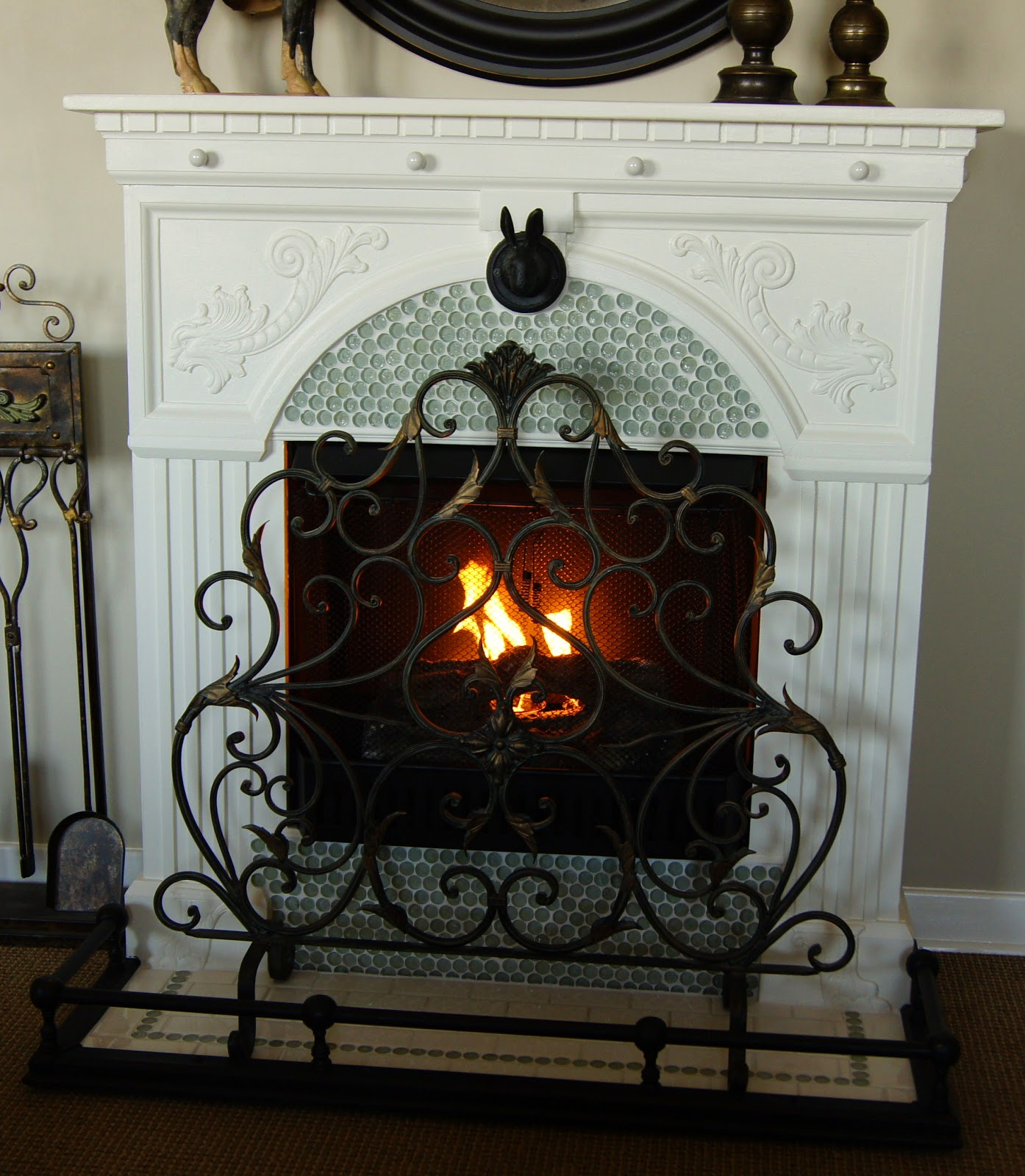 French Country Fireplace A French Country Fireplace So You Think You Re Crafty Entry