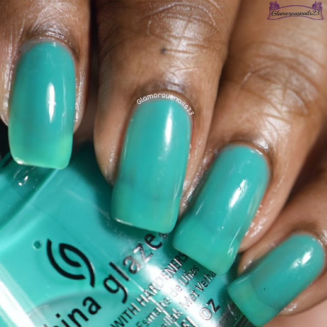 China Glaze Keepin It Teal