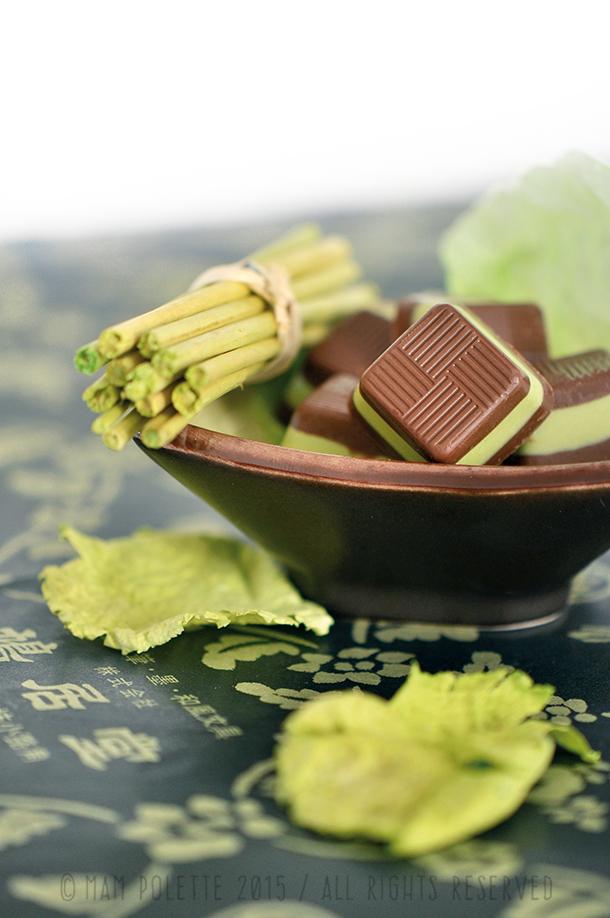 Kabaya Shokora Matcha and Chocolate