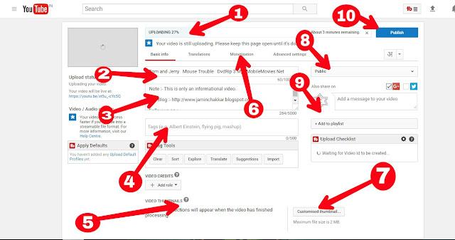 youtube par video upload karne ka sahi trika