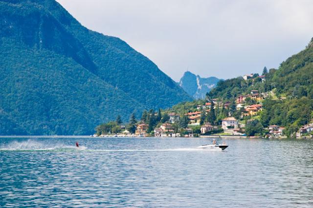 Ingressos para o tour por Lugano Lake