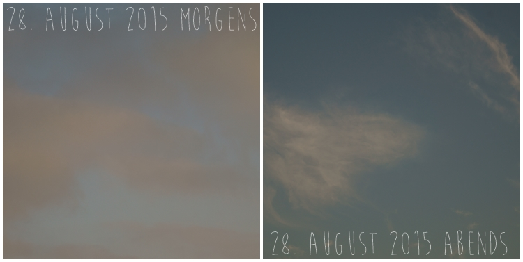 Blog & Fotografie by it's me! - Himmel am 28. August 2015