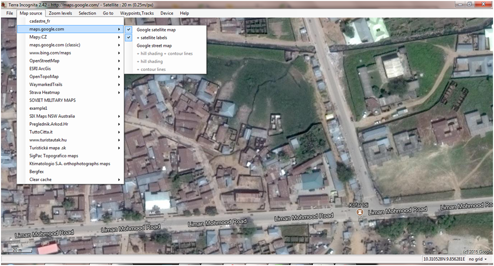 Geospatial Solutions Expert Downloading High Resolution Satellite - Google satellite maps zoom