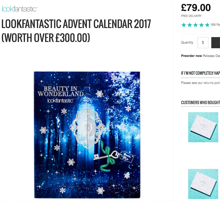 LookFantastic Beauty Advent Calendar 2017: Why You Need It