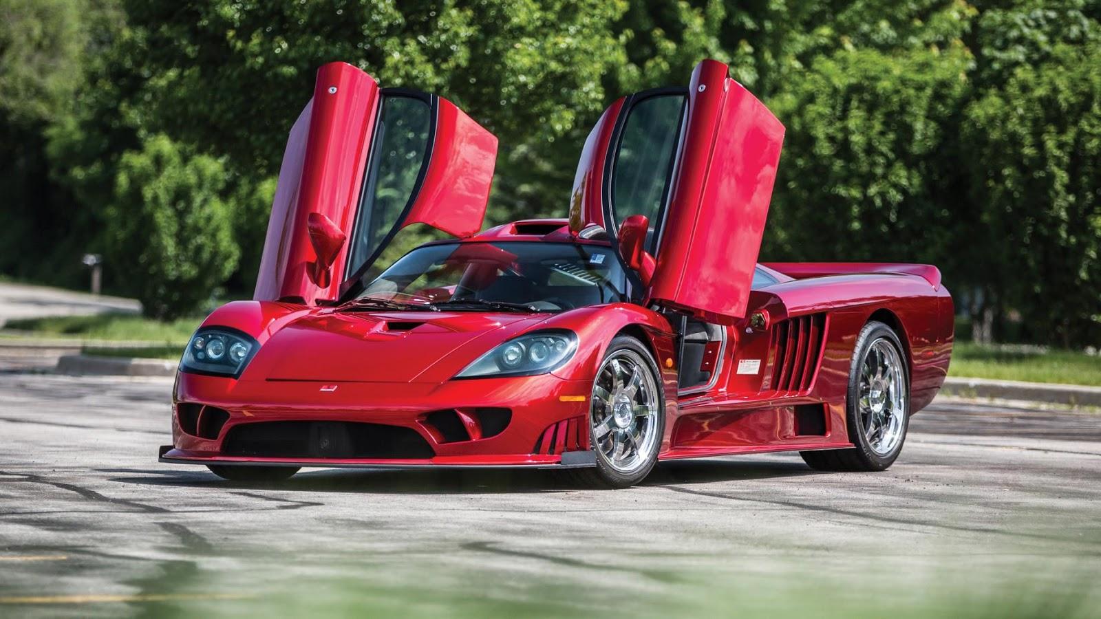 Saleen S7 là một siêu xe cực đẹp, cực nhanh, cực mạnh và..cực hiếm