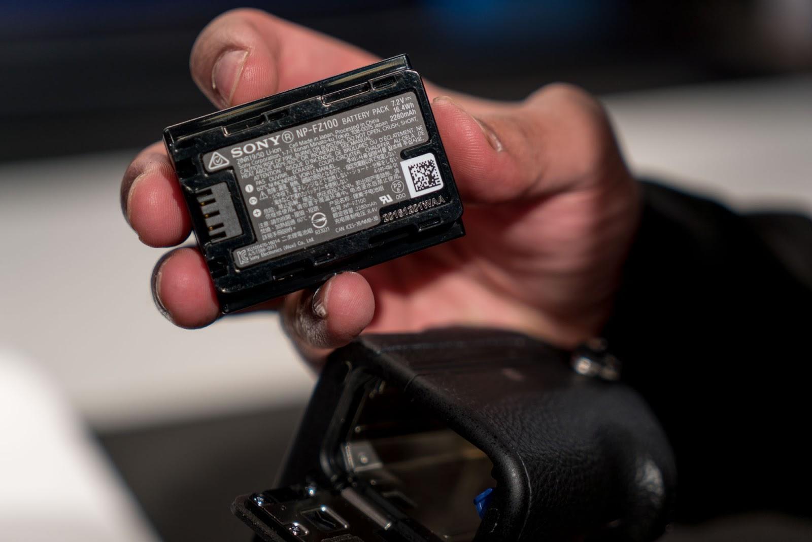 Аккумулятор Sony NP-FZ100
