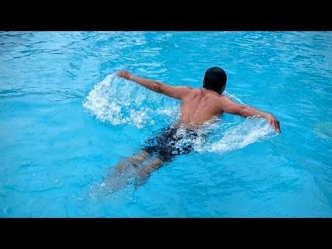 Kết quả hình ảnh cho Học bơi bướm - Tập uốn sóng bướm