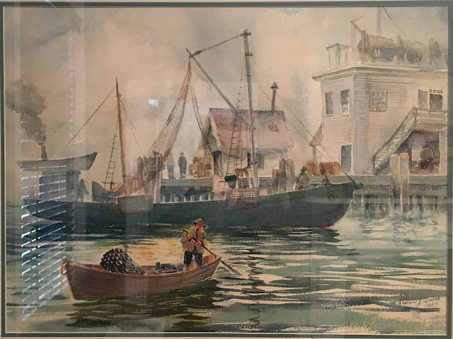 image of fishing vessels in Maine Harbor, Quirk