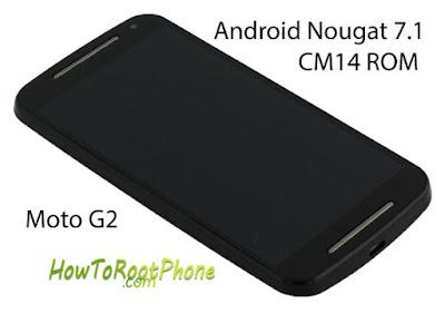 How to flash CM14 Nougat based ROM on Moto G2