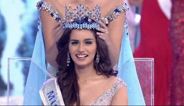 Miss India Manushi Chhilar wins the 67th Miss World contest final in Sanya, on the tropical Chinese island of Hainan