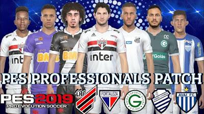PES 2019 PES Professionals 2019 2.0 DLC 5.01 Update Brasileiro 2019
