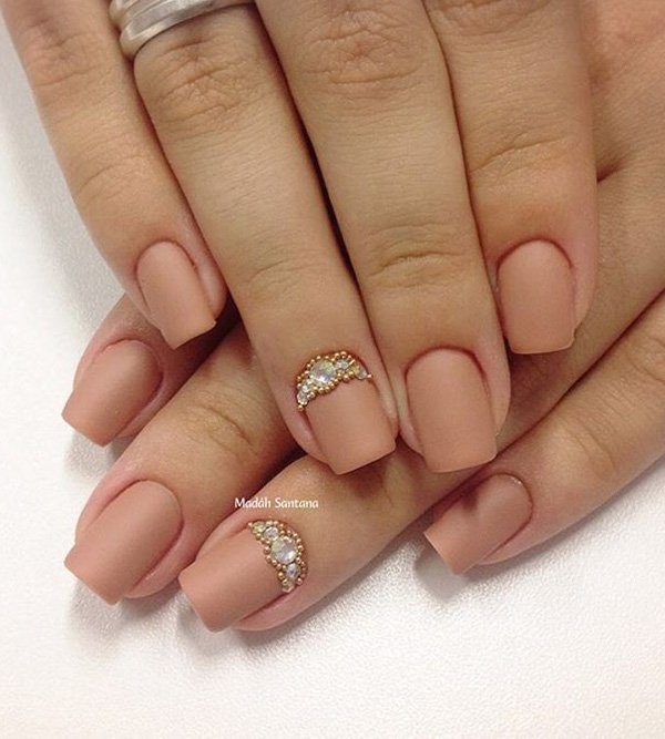 30 Nude Nail Art Ideas And Designs For Inspiration
