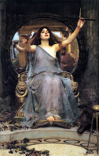 Circe Offering the Cup to Ulysses (1891) - JW Waterhouse