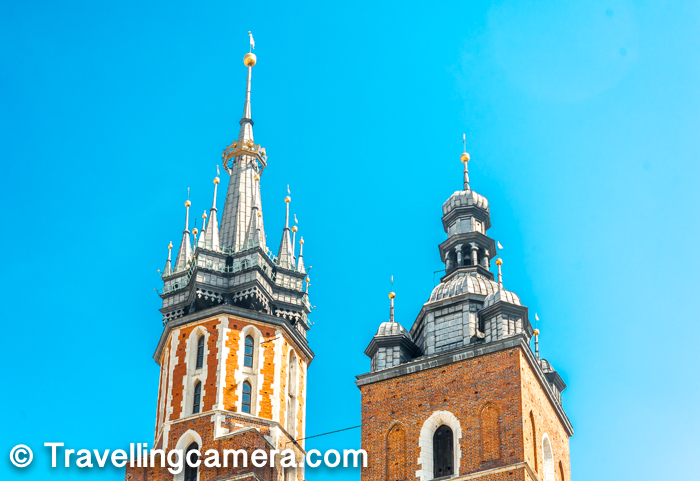 If you have gone through some of the earlier posts on the blog about Krakow City and it's main places to explore, St Mary's Basilica is close to Planty Park. Actually Planty park surrounds this old part of the Krakow city and Market Square is easily accessible from various parts of Planty Park. St Mary's Basilica is also pretty close to the railways station, so if you like this can be first place you would want to explore after getting down from the train. You can easily walk by following the GPS directions and you would cross Planty Park on the way.     You may want to check-out - Planty Park - Well located park in Krakow to offer diverse experience of this Historical City
