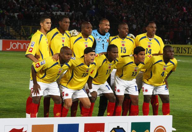 Formación de Colombia ante Chile, Clasificatorias Sudáfrica 2010, 10 de septiembre de 2008