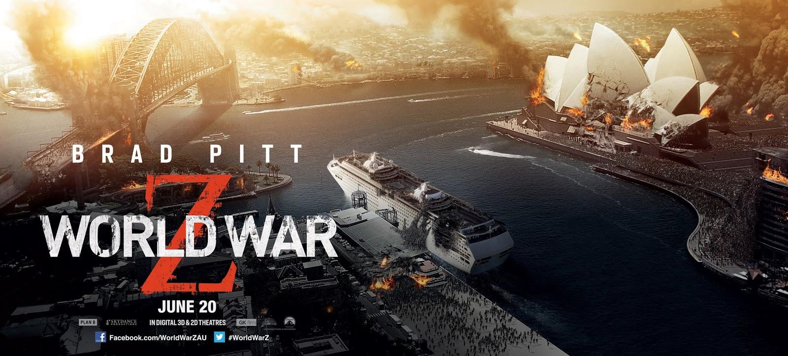 Josie's Juice: 'World War Z' - Sydney Destruction