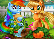 My Little Pony Jardin Vegano juego