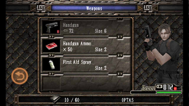 apk mod resident evil 4 unlimited ammo