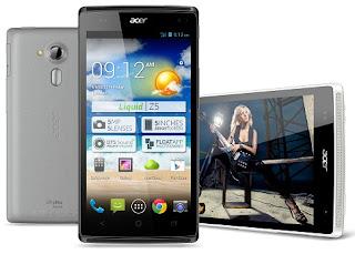 Harga HP Android Acer All Type Dari harga dibawah satu jutaan