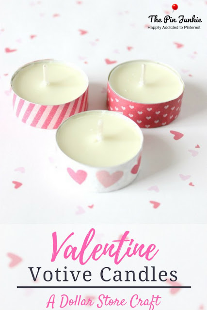 Valentine Votive Candles