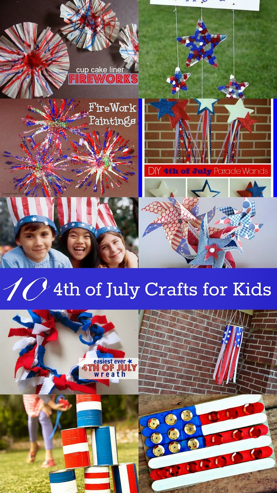 4th of july crafts for kids 10 fourth of july crafts for eclectic 7374