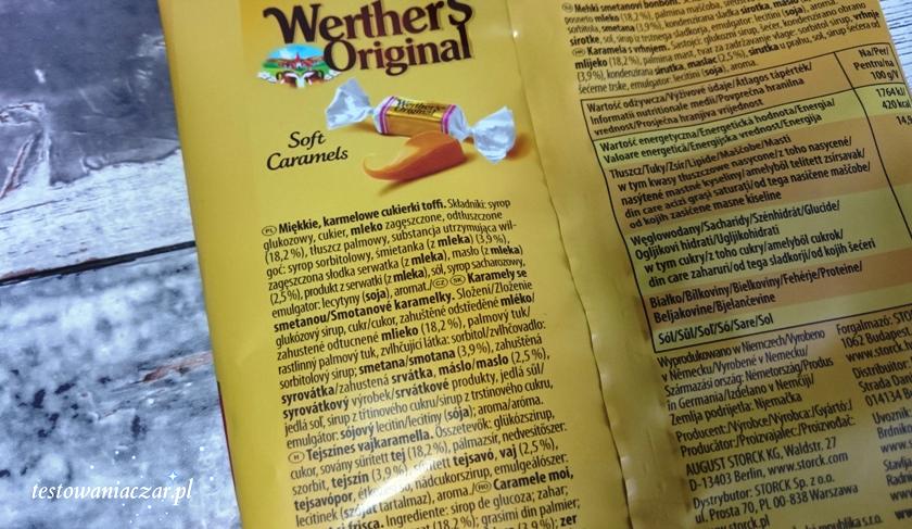 Miękkie karmelki, cukierki.