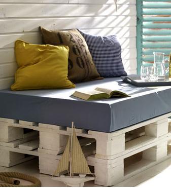 A mi manera c mo reciclar tarimas de madera for Reciclar una cama de madera